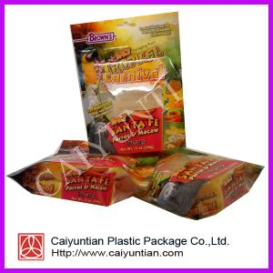 2013 Hot Sale Stand up Dog Food Bag with Ziplock