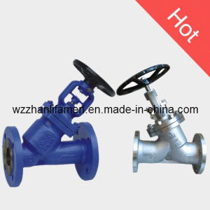 Bellow Seal Y Type Globe Valve Ywj41h (API, DIN, GB) pictures & photos