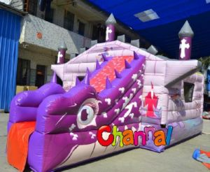 New Design Inflatable Castle Slide Combo pictures & photos