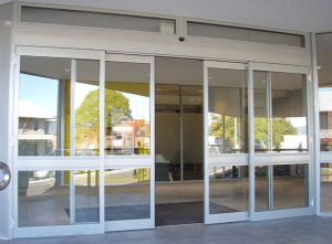 Automatic Sliding Door with Aluminum Frame (DS100) pictures & photos