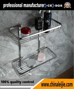 Luxury High Quality Stainless Steel Bathroom Set Storage Basket pictures & photos