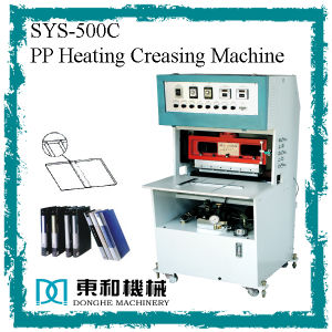 PP Heating Creasing Machine pictures & photos