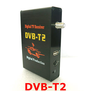 HD, 60km/H, 4 Video Output, Car DVB-T2 for Russia