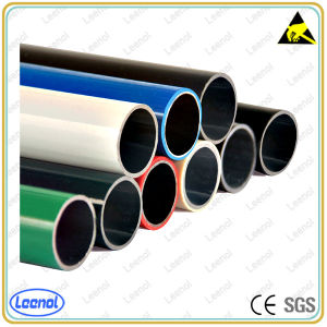 Black ABS Pipe/Colored Lean Tube/Compound Lean Pipe for Rack pictures & photos