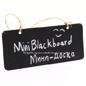 The Sheep Shape Chalkboard Black Board with Cord, Christmas Birthday Wildlife Zoo Animal pictures & photos