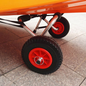 Heavy Duty Inflatable Pneumatic Rubber Wheel pictures & photos
