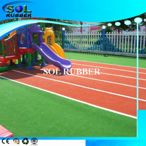 Colorful Sport Flooring Surface EPDM Granules Rubber Product pictures & photos