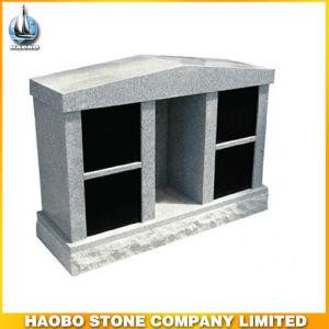 China Grey Granite 4 Niches Private Cremation Columbarium pictures & photos