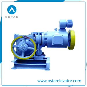 AC2 Geared Traction Machine, Elevator Machine, Elevator Parts (OS111-YJF120WL) pictures & photos