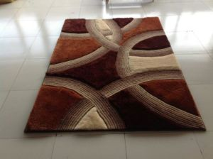 Home Textile Stretch Silk Shaggy Carpets and Rugs