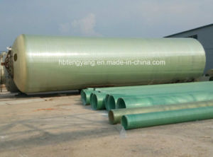 High Strength Pultruded Plastic FRP Fiberglass Round Pipe pictures & photos