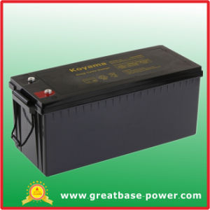 Long Life Deep Cycle Solar & Wind Power Battery 240ah 12V pictures & photos
