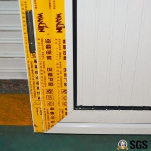White Colour Powder Coated Aluminum Casement Door with Aluminium Panel, Door K06017 pictures & photos