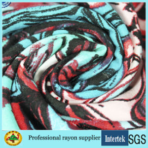 Manufacturer Supply Printed Rayon Fabric for Women Garments pictures & photos