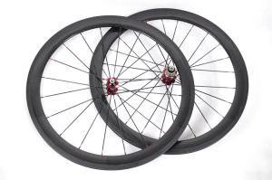 Light Weight Carbon 50mm Tubular Bicycle Wheels (FRX-W50T)