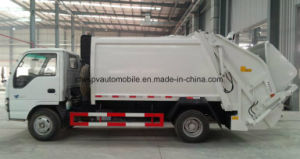 Isuzu 5t Waste Transport Truck 5 Cbm Compactor Garbage Truck pictures & photos