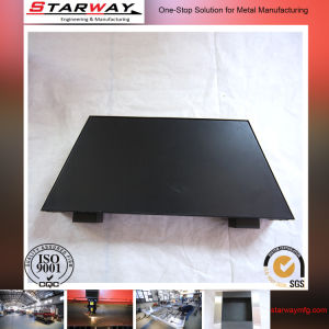 Custom Steel Black Coating Sheet Metal Fabrication pictures & photos