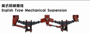English Type Mechanical Suspension for Trailers pictures & photos