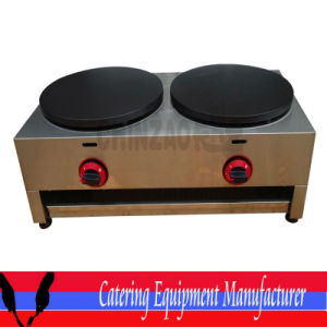 Gas Double Hot Plate Crepe Maker (WXL-35-2) pictures & photos