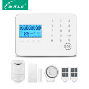3G Wireless Burglar Fire House Security GSM & PSTN Alarm System pictures & photos