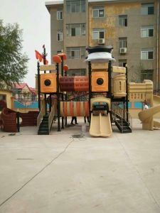 Pirate Theme Park Equipments Good for Parents and Kids Outdoor Park Playground pictures & photos