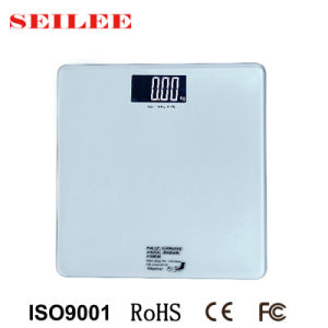 200kg 8mm Tempered Glass Slim Electronic Personal Health Scale pictures & photos