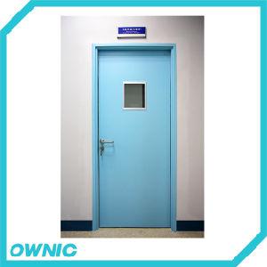 Hot Manual Single Swing Hermetic Hospital Door pictures & photos