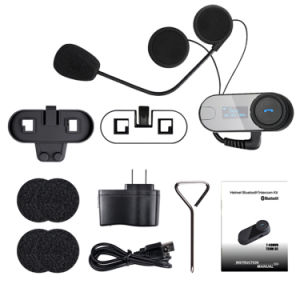 SMP 800m Bt Interphone Bluetooth Motorcycle Helmet Intercom Fdc-02sc pictures & photos
