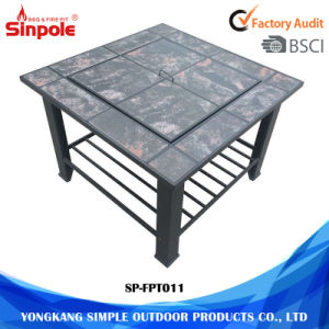 Practical Multi-Function Combination BBQ Grill Fire Pit Table pictures & photos