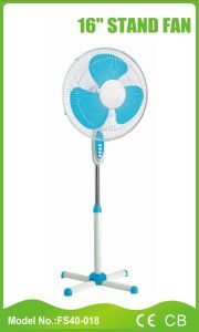 16 Inch Competitive Price Stand Fan Without Timer/Light (FS40-018) pictures & photos