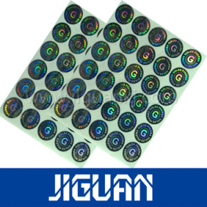 Custom Multi Channel Effect Hologram Laser Security Anti Counterfeiting Label Sticker pictures & photos