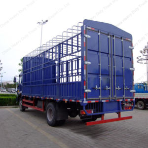 China 2 Axles Light Stake Truck for Sale pictures & photos