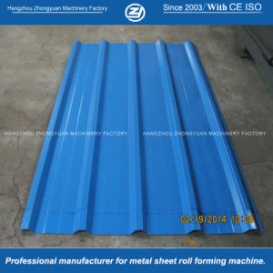 Soncap China Steel Roof Cold Roll Forming Machinery pictures & photos
