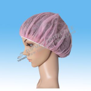 Disposable Bouffant Scrub Hats/Disposable Hair Nets for Food Service pictures & photos