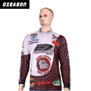 Cusotm UV Protection Men′s Fishing Shirts (F007) pictures & photos