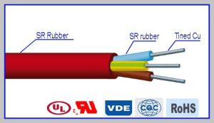 H05s-K Non-Braid Silicone Rubber Tinned Wire pictures & photos