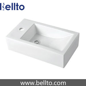 Small Black Ceramic Basin for Cloakroom (3609) pictures & photos