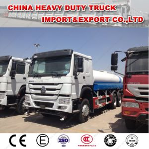 HOWO 6X4 20m3 Water Tanker Truck Spray Truck for Sale pictures & photos