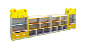 Wooden Mobile Module Kids Shelf for Kids Role Play Shelf pictures & photos