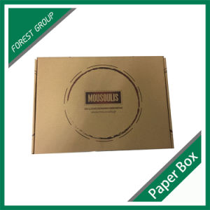 Brown Kraft Packaging Box for Clothes Shipping pictures & photos