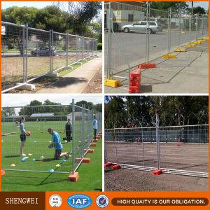 Australian HDG Portable 60X150mm Mesh Temp Fence Panels pictures & photos