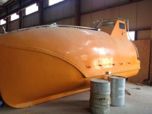 Life-Saving Appliance Fiberglass Lifeboat 30 Persons pictures & photos