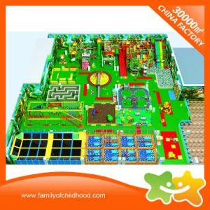 Large Jungle Style Multifunctional Indoor Play Centre Equipment for Sale pictures & photos