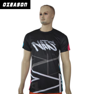 Cheap Blank Plain Custom Sublimation 100% Polyester T Shirt pictures & photos