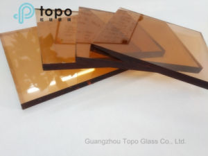 5mm - 10mm Pink Color Tinted Float Glass for Building (C-P) pictures & photos