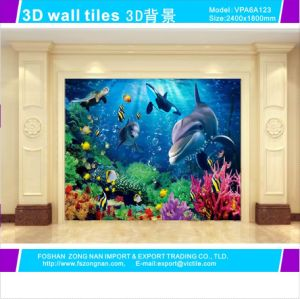 3D Art Background Wall Glazed Tiles for Home Decoration (VPA6A126) pictures & photos