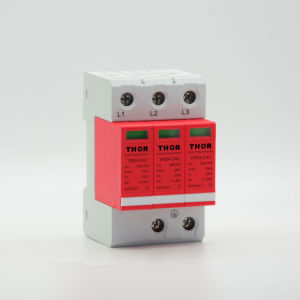 Lightning Arrester 40ka Surge Arrester for CE pictures & photos