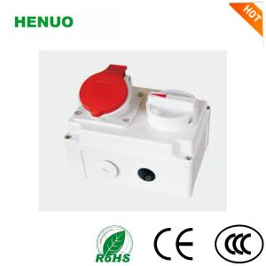 IP 67 Socket Electrical Socket Multi Socket Power Socket with Switch and Locks pictures & photos
