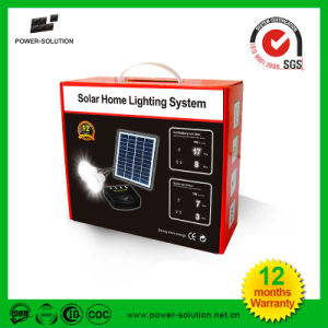 Solar Home Lighting System with 2 Bulbs Mobile Phone Charger pictures & photos