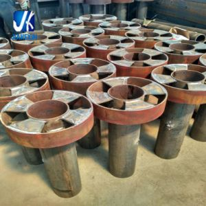 Steel Structural Fabrication Weld Guard Post pictures & photos